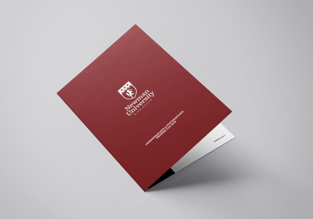 Copy of Newman Prospectus Mockup newman university branding