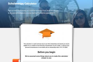 Sunderland scholarships calculator featured image
