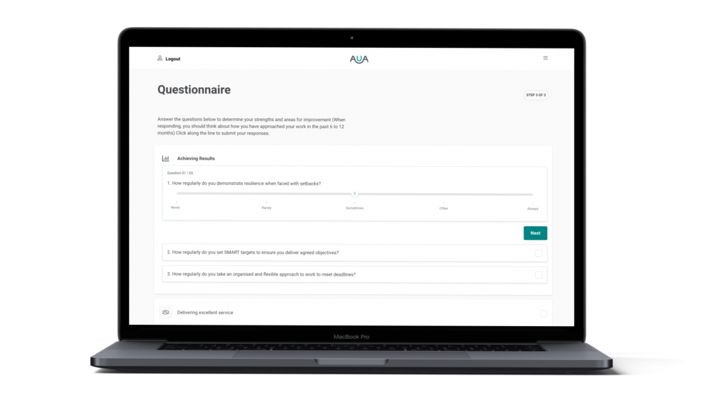 AUA CPD Designs of the Questionnaire