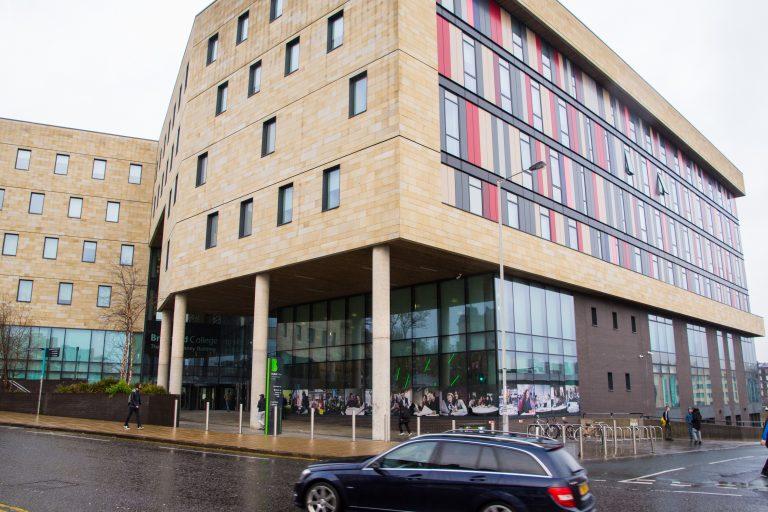 David Hockney Building Exterior